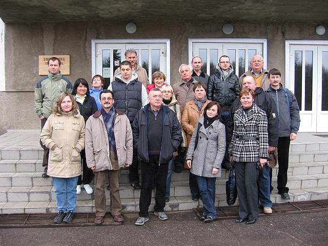 Wizyta nauczycieli na Litwie