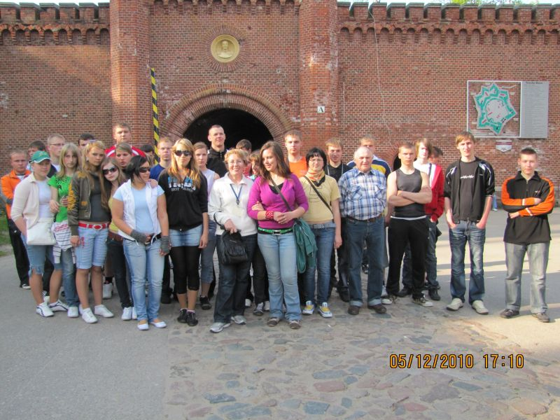 Litewska młodzież i nowa pracownia w ZSEiI