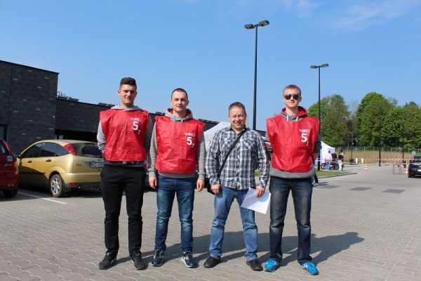 4 miejsce w województwie w Warmińsko-Mazurskim Młodzieżowym Turnieju Motoryzacyjnym